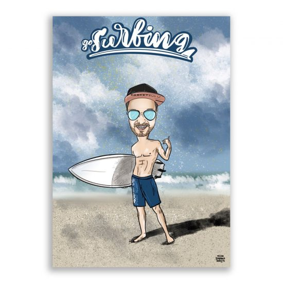 Surfer-portretna-zamówinie-Maciej-Swiety-Rysuje